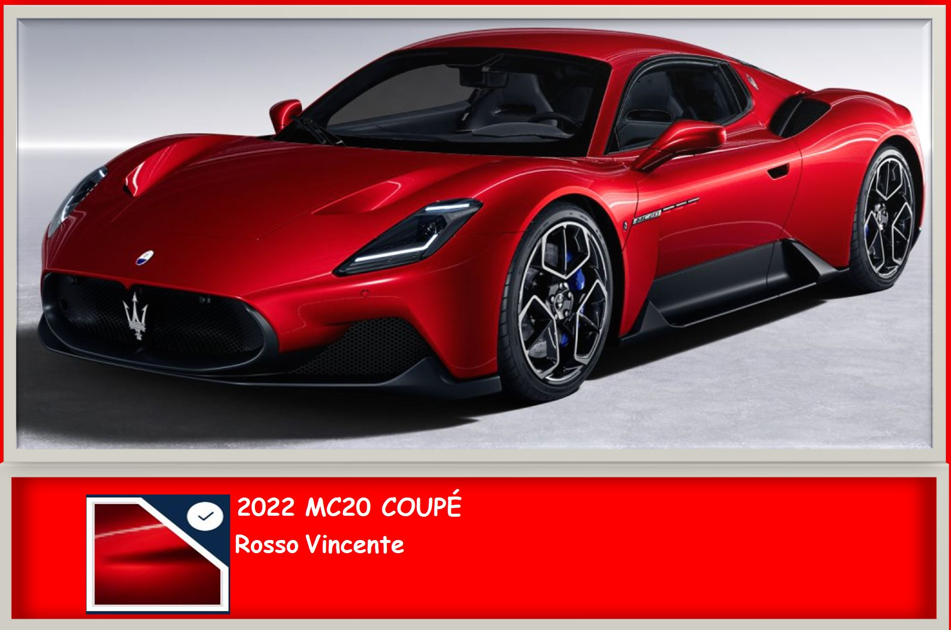 Rosso Vincente (Red) Paint