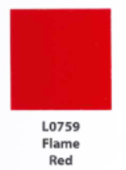 L0759  Flame Red