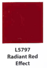 L5797  Radiant Red Effect